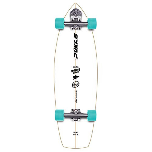 YOW La Loca 31.5' Signature Series Surfskate Skateboard, Adultos Unisex, Multicolor (Multicolor)