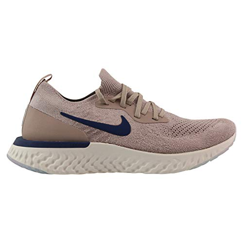 Nike Epic React Flyknit, Zapatillas de Running para Hombre, Multicolor (Diffused Taupe/Blue Void/Phantom 201), 42 EU